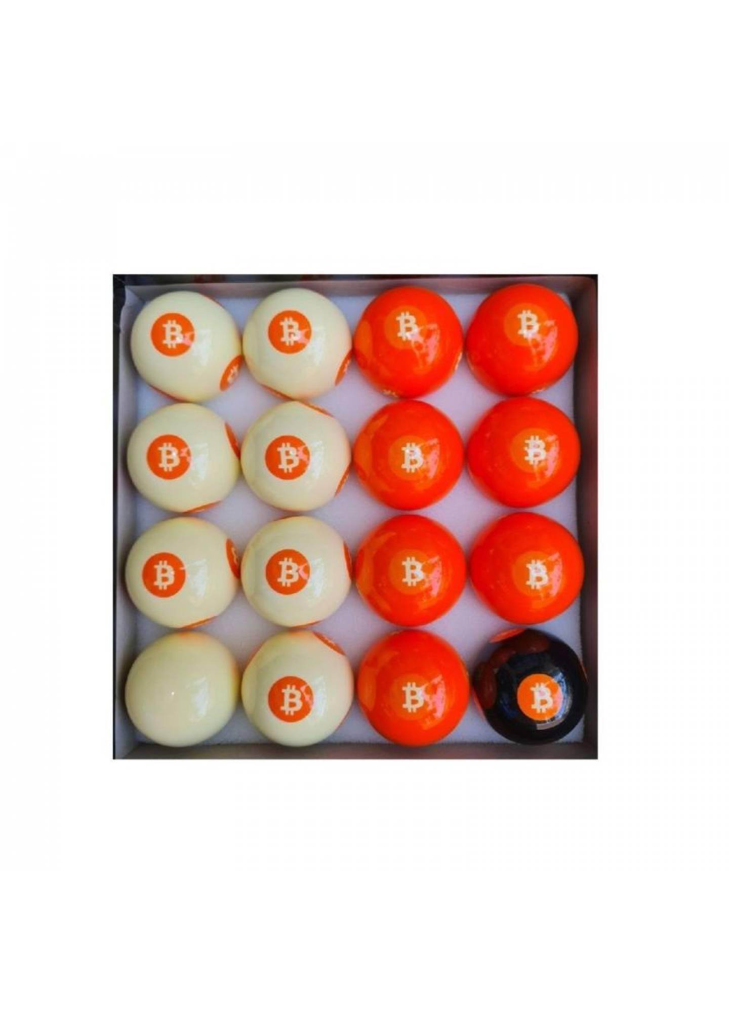 BITCOIN POOL BALL SET (NEW!)
