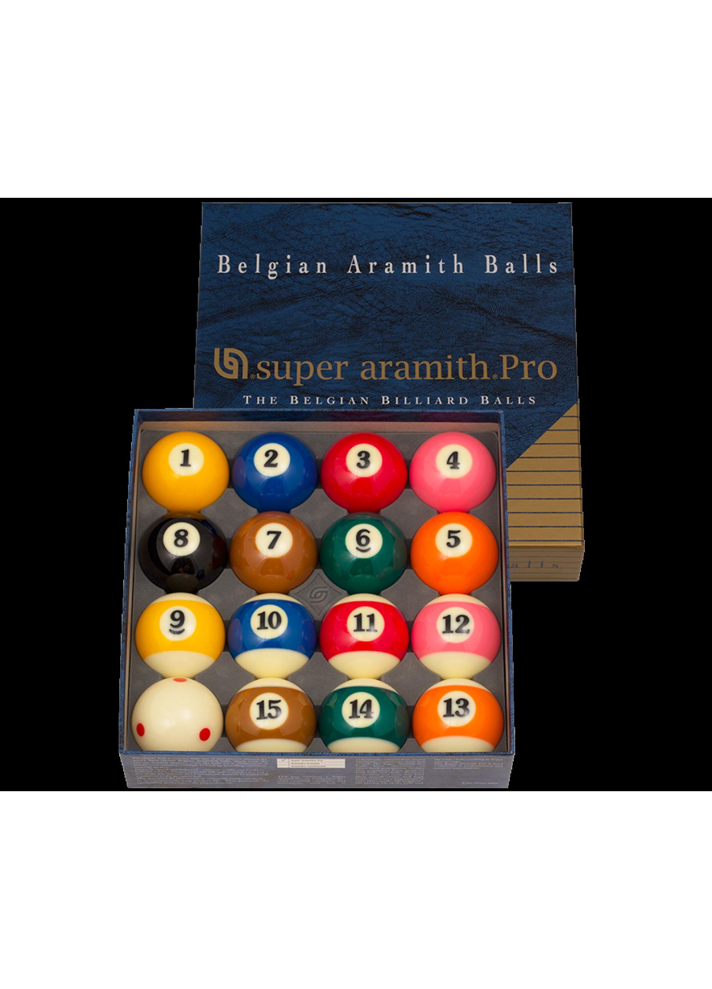 SUPER ARAMITH PRO POOL BALL SET
