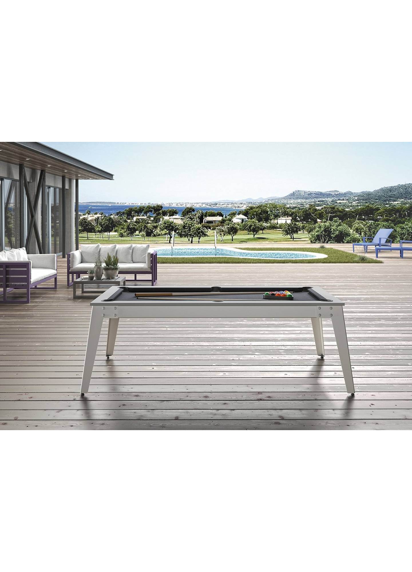 CARAIBES LUXURY OUTDOOR POOL TABLE