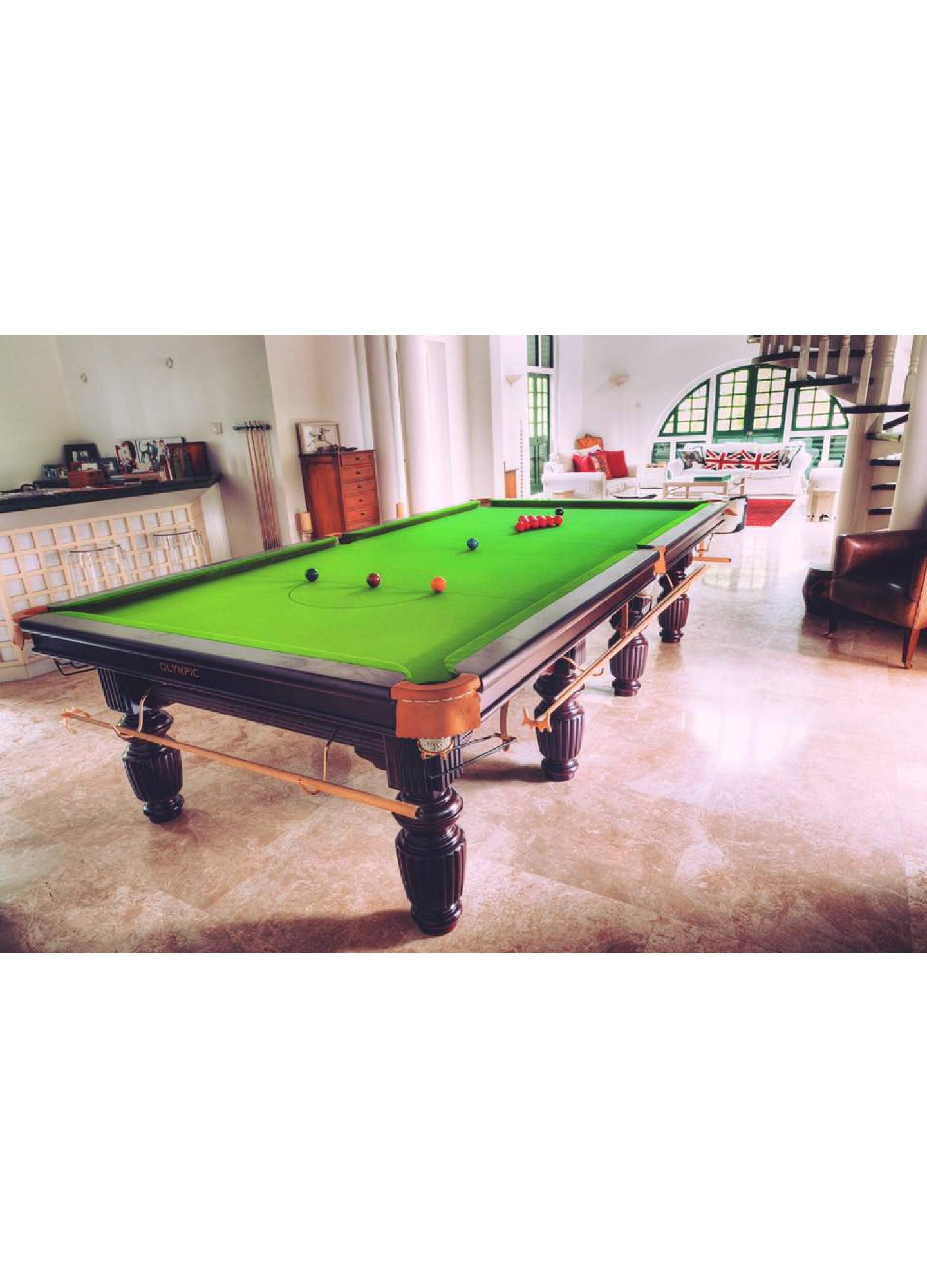 OLYMPIC SNOOKER TABLE